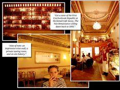 PRAGUE ~ Cafe Savoy , famous restaurant w/ private tasting room and an on-site bakery Cafe Savoy, Vítězná 124/5, Prague 5 (map); cafesavoy.ambi.cz