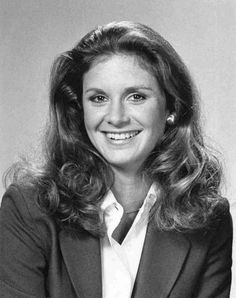 Actress Stephanie Zimbalist. She was born in 1956. She co-starred in the 80s TV series Remington Steel and was the daughter of Efrem Zimbalist, Jr.