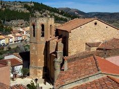 Alpuente 2015 04: Iglesia de Ntra Sra de la Piedad en #Alpuente