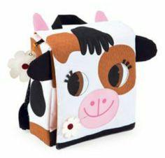 Cow Backpack #backtoschool #juratoys #janod #kiddymoo #backpack #lunchbag #rucksacks #kidsbags #schoolbags #cow