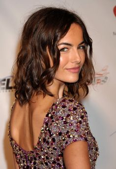 Camilla Belle: after bangs grow out :)