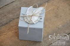 Wednesday, September 03, 2014 Stampin' Dolce: Two birds of a feather - Stampin' Up! Artisan Blog Hop Four Feathers, Custom Tiny Treat Box