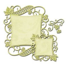 Spellbinders Nestabilities Decorative Elements - CURVED SQUARE SO