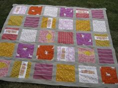 far far away quilt. Like the way the princess is patched with fabrics