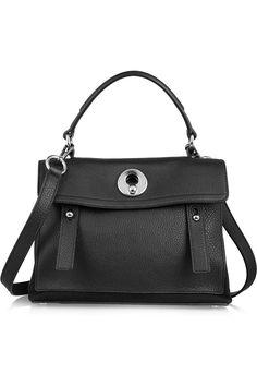Yves Saint Laurent Mini Muse leather shoulder bag