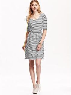 Women's Fit & Flare Dresses | Old Navy