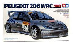 Peugeot 206 WRC 2000 Tamiya 24226 1/24 New Model Car Kit – Shore Line Hobby