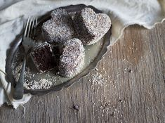 The Kate Tin: Microwave Double Chocolate Lamingtons Chocolate Icing, Chocolate Cheesecake, Snack Mix Recipes, Wine Recipes, Golden Syrup, Food To Make, Microwave, Treats, Baking