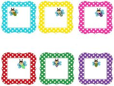 Etiquetas Classroom Rules, Classroom Themes, Preschool Names, Fruit Crafts, School Labels, School Clipart, Name Labels, Calligraphy Alphabet, Gift Tags