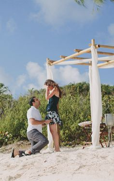 Beach Proposal.
