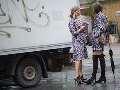 Janka Polliani & Darja Barannik  #streetstyle #fashion #streetfashion #street #mode #moda #stockholm #lifestyle #woman #stylish #stylisy #black #fashionable #fashionweek #shoes #bag #bloggers #blogger #fashionblogger