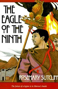 "The Eagle of the Ninth by Rosemary Sutcliff.  This is the first book in what is probably best referred to as ""The Dolphin Cycle"".  The books are individual stories that follow a family through centuries. They are loosely connected by the dolphin ring which is passed down through the generations."