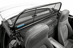 1989-2004 Mazda Miata Convertible Wind Deflector Your wind deflector will reduce wind speed by up to 75%. Enjoy driving with your top down earlier in the spring and later into the fall. Listening to music or have a conversation even at highway speeds. Open and close your top convertible without removing the wind deflector. Helping you love your convertible more