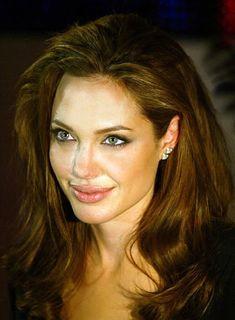 angelina jolie long wavy hair angelina jolie curly hair angelina jolie hair colour angelina jolie sag hair Angelina Jo...