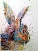 hare paintings - Google Search
