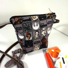 Star Wars VII Heroes Small Crossbody Bag | Best Friend Gift | Star Wars Bag | Gift for her | Birthday Gift under 30 | Star Wars Lover by NuchyHandmade on Etsy