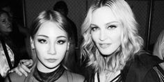 CL rubs shoulders with Madonna and Die Antwoord's Ninja | allkpop