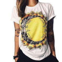 S-XXL fashion summer 2016 t shirt women wonder print punk rock t-shirt girls tops couple clothes plus size camisetas mujer