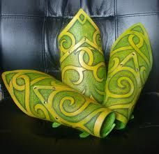 love these. colour and  swirls.
