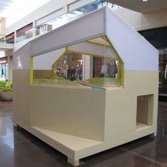 Another cool playhouse featured @ CASA Northpark Parade of Playhouses