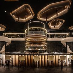 KOR Taipei by Etai Space Design Office in Photography:Dirk Heindoerfer Interior Design Dubai, Restaurant Interior Design, Modern Interior Design, Interior Design Inspiration, Design Ideas, Cl Design, Lounge Design, Design Styles, Restaurant Lounge