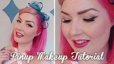 Full Vintage / Modern Pinup Makeup Tutorial | Diablo Rose❤Thank❤You❤
