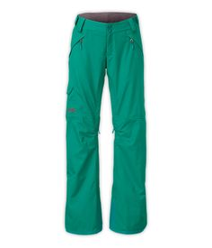 The North FaceWomen'sPants & ShortsSkiing/SnowboardingWOMEN'S FREEDOM LRBC PANT NOT INSULATED**  Fanfare Green