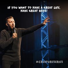 Fresh Life is a multi-site church led by Pastor Levi and Jennie Lusko. Creature Of Habit, Great Life, Liberty, Christ, Life Quotes, Creatures, Faith, Sayings, Pastor