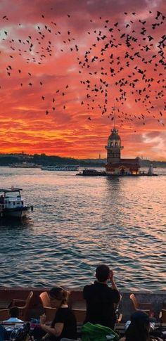 Wallpaper Tutorial and Ideas Landscape Pictures, Landscape Paintings, Landscape Photography, Nature Photography, Istanbul Travel, Car Painting, Nature Wallpaper, Graffiti Art, Animal Drawings