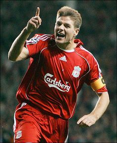 Steven Gerrard - Midfielder and Captain for Liverpool F.C