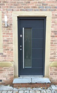 Cerberus security doors are always made with love and passion, and absolute precision every single time. We are ever grateful for the trust smart Londoners have shown in Cerberus security products. Front Door Entrance, Front Entrances, Front Doors, Modern Garage Doors, Modern Front Door, Cerberus, Security Door, Minimalism, Modern Design