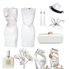 All White party outfit
