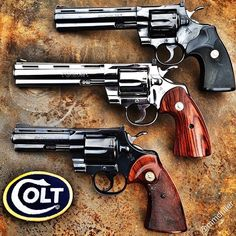 My favourite revolver ! 357 Magnum, Weapons Guns, Guns And Ammo, Revolver Pistol, Revolvers, Aigle Animal, Colt Python, Shooting Guns, Fire Powers