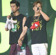 My two 2 favourites 😍 Ok Taecyeon, Jun K, Kpop, Boy Groups, Gentleman, Rapper, Singer, Actors, T Shirts For Women