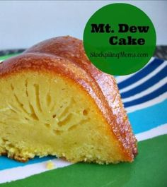 Mt Dew Cake is so moist and delicious!  It's the perfect dessert at a party.