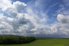 The Catoctin Mountains from just outside of Frederick, Maryland. Photo by Kai Hagen.