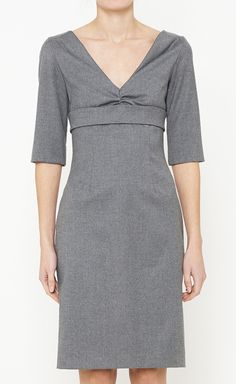 Alexander McQueen Grey Dress | VAUNTE