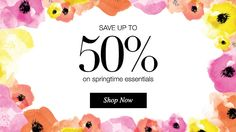 Save up to 50% off on Springtime Essentials. Shop now. Free shipping with $40 order. youravon.com/taylorenterprises