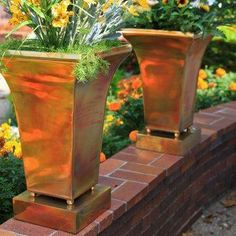 Copper Plated Pot.
