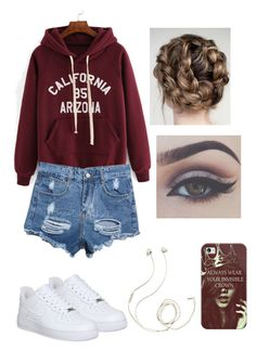 """Casual summer outfit"" by squidney12 ❤ liked on Polyvore featuring NIKE, Molami and Casetify"
