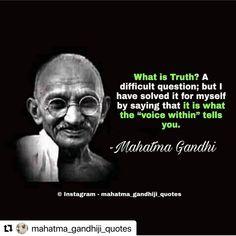 Wie oft willst Du anderen Deine Wahrheit aufzwingen? Wieso? Jeder hat seine eigene Wahrheit. Das ist ok. Wissen Macht Mahatma Gandhi Quotes, Follow Us, World Problems, Humility, Motivationalquotes, Quotes To Live By, Told You So, This Or That Questions, Sayings