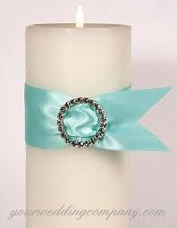 Cute Candle. My friend did this for her wedding card. Tiffany style and it turned out beautiful.