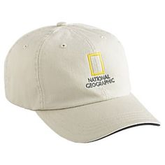 National Geographic Khaki Baseball Cap   National Geographic Store