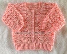 New Baby Boy Crochet Cardigan Pattern Girls Sweaters 28 Ideas Crochet Baby Sweaters, Gilet Crochet, Baby Cardigan Knitting Pattern, Crochet Cardigan Pattern, Crochet Baby Clothes, Crochet Jacket, Crochet Girls, Free Crochet, Crochet Top