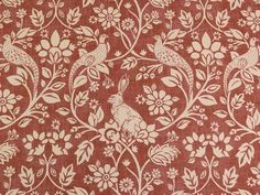 Heathland Copper Cotton Fabric - Curtains and Upholstery - The Millshop Online