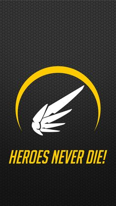 Overwatch - Mercy Mobile Wallpaper