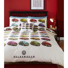 Volkswagen Beetles Duvet Cover Set