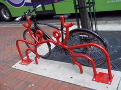 A craby #bike rack