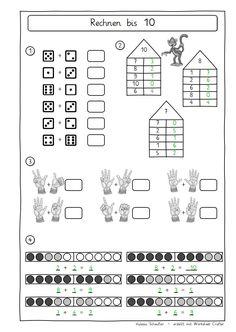 bildergebnis f r zahlzerlegung 10 mathe montessori mathe vorschulrechnen und zahlen zerlegen. Black Bedroom Furniture Sets. Home Design Ideas