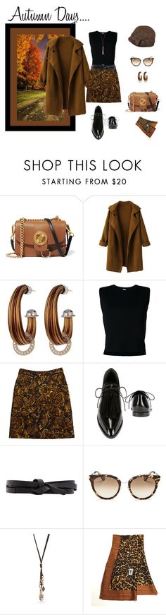 """""""Just Starting Out...Autumn Days Ahead...."""" by jjsunnygirl ❤ liked on Polyvore featuring Chloé, WithChic, Alor, Rito, Etcetera, Loeffler Randall, Isabel Marant, Kate Spade, New Directions and Yves Saint Laurent"""